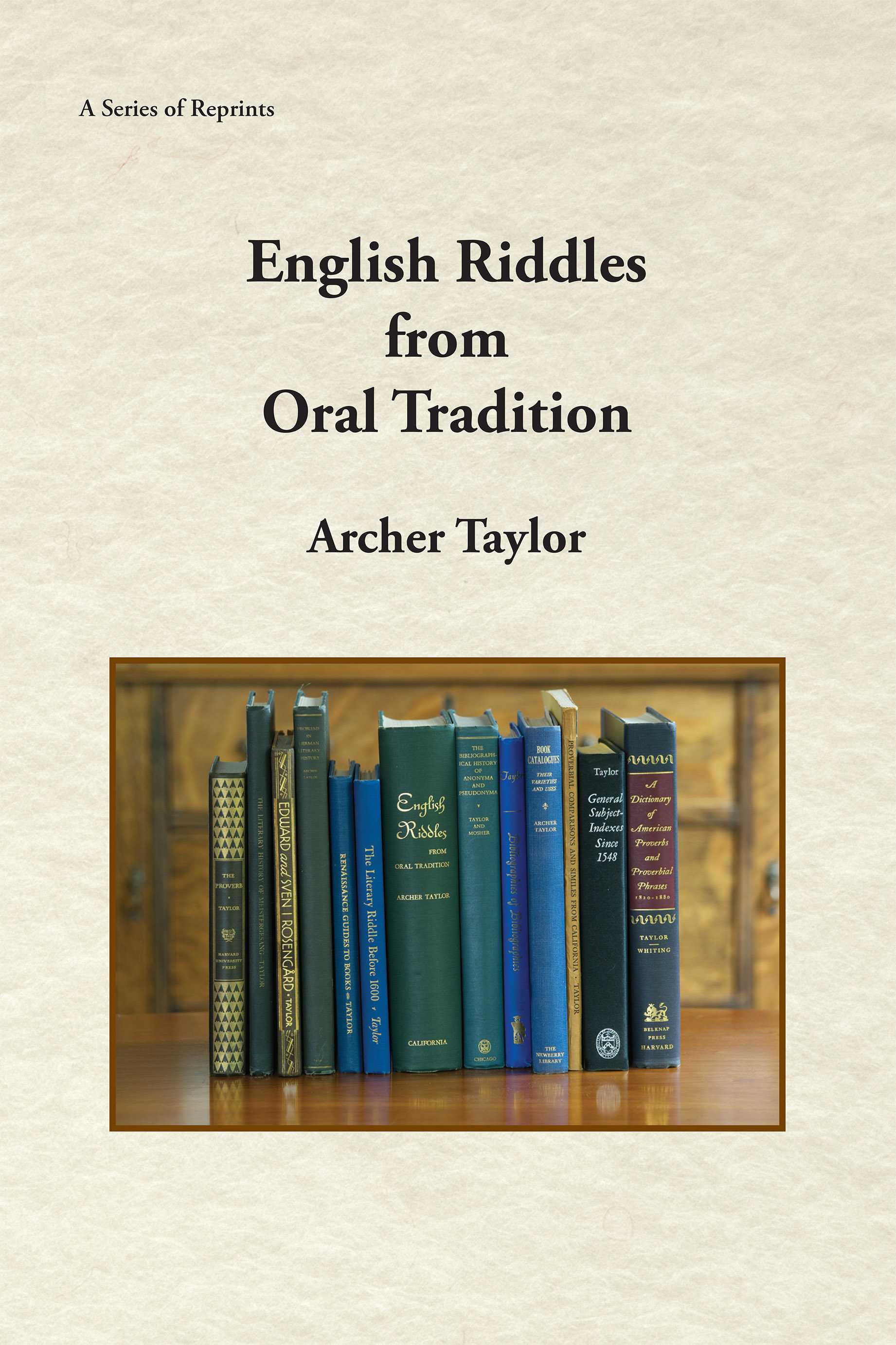 English Riddles in Oral Tradition