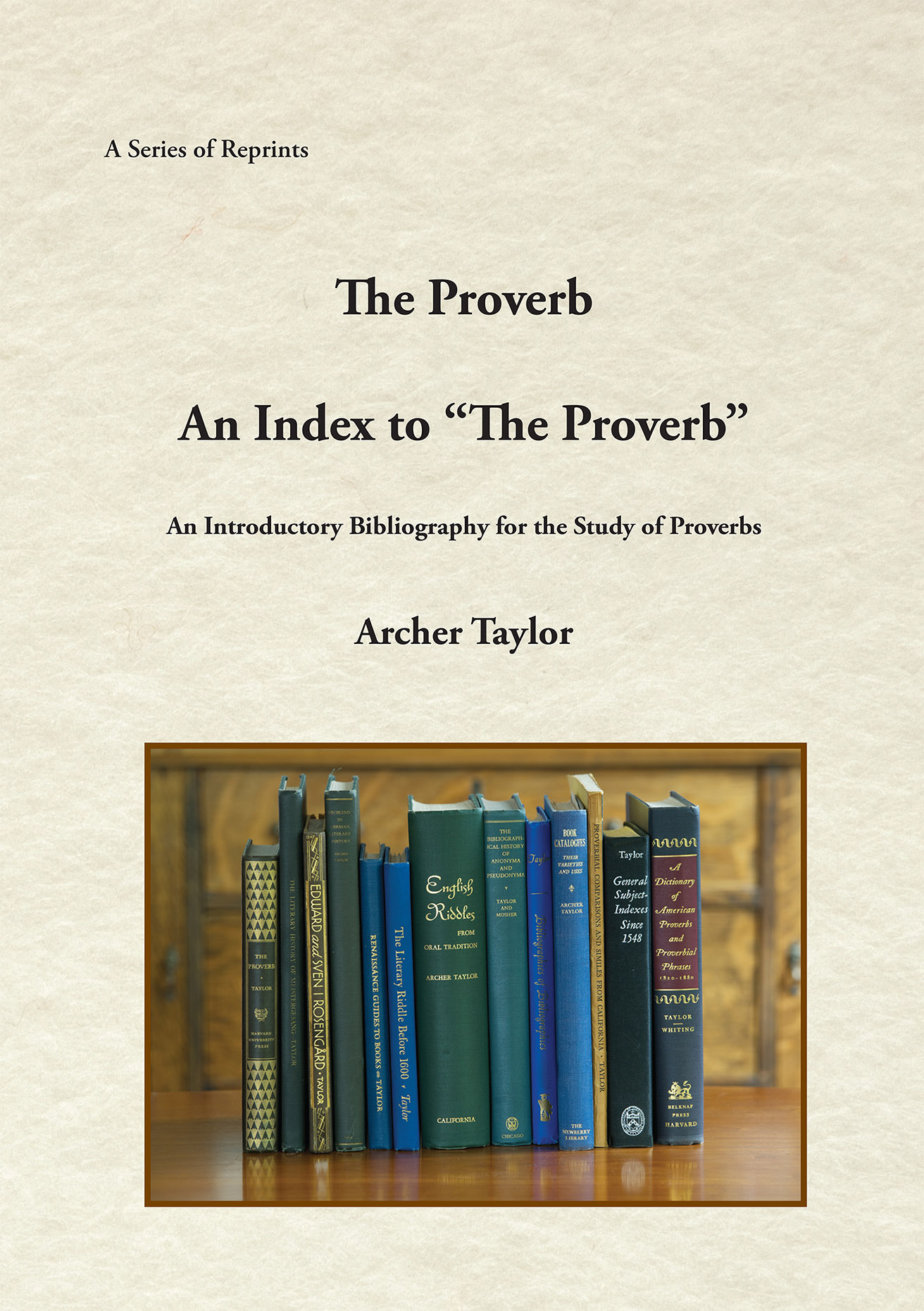"The Proverb and An Index to ""The Proverb"""